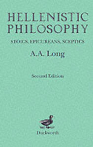 Hellenistic Philosophy - A. A. Long - cover