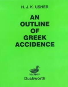 Outline of Greek Accidence - H.J.K. Usher - cover