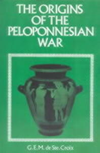 Origins of the Peloponnesian War - G. E. M. De Ste.Croix - cover