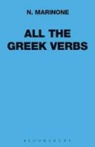 All the Greek Verbs - N. Marinone - cover