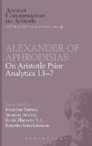 "On Aristotle ""Prior Analytics"" - Jonathan Barnes - cover"