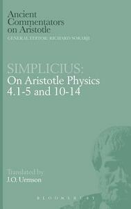 "On Aristotle ""Physics 4, 1-5 and 10-14"" - of Cilicia Simplicius - cover"