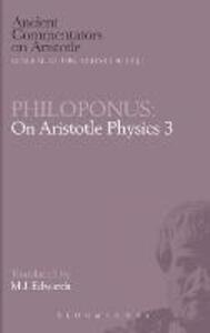 "On Aristotle ""Physics 3"" - John Philoponus - cover"