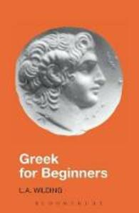 Greek for Beginners - L.A. Wilding - cover