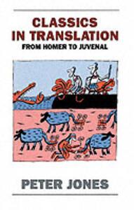 Classics in Translation - Peter Jones - cover