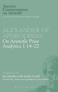 "On Aristotle ""Prior Analytics"" - of Aphrodisias Alexander - cover"