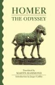 The Odyssey - Homer - cover
