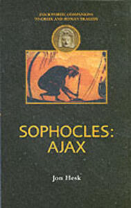 """Sophocles: """"Ajax"""" - Jon Hesk - cover"""