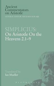 """On Aristotle """"On the Heavens 2.1-9"""" - of Cilicia Simplicius - cover"""