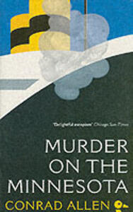 "Murder on the ""Minnesota"" - Conrad Allen - cover"