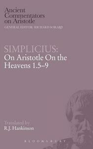 "On Aristotle ""On the Heavens 1.5-9"" - of Cilicia Simplicius - cover"