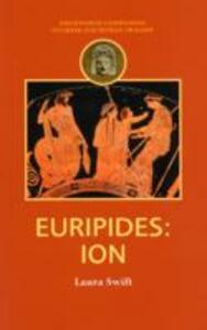 Euripides: Ion - Laura Swift - cover