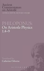 Philoponus: On Aristotle Physics 1.4-9 - cover