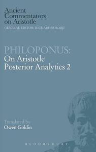 Philoponus: On Aristotle Posterior Analytics 2 - cover