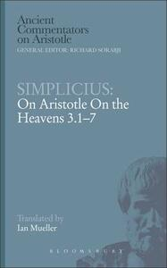 "Simplicius: On Aristotle ""On the Heavens 3.1-7"" - cover"