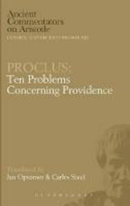 Proclus: Ten Questions on Providence - cover