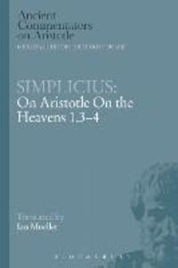 Simplicius: On Aristotle On the Heavens 1.3-4 - Simplicius - cover