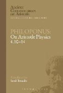 Philoponus: On Aristotle Physics 4.10-14 - Philoponus - cover