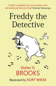 Freddy the Detective - Walter R. Brooks - cover