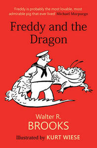 Freddy and the Dragon - Walter R. Brooks - cover