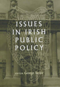 Issues in Irish Public Policy - cover