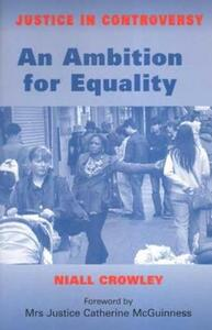 An Ambition for Equality - Niall Crowley - cover