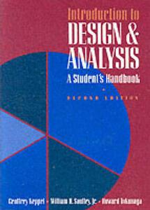 Introduction to Design and Analysis: Student's Handbook - Geoffrey Keppel,W.H. Saufley,William H. Saufley Jr - cover