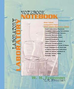 Chemistry Laboratory Notebook 2e - W.H. Freeman - cover