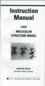HGS Molecular Structure Model - Maruzen Company Ltd.,William Myers - cover