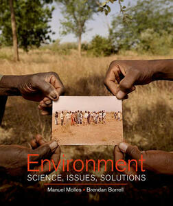 Environment: Science, Issues, Solutions - Manuel Molles - cover