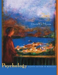 Psychology: In Modules - David G Myers - cover