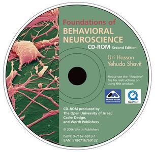 Student CD-ROM for Foundations of Behavioral Neuroscience - Yehuda Shavit,Uri Hasson - cover