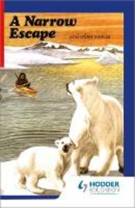 First Aid in English Reader D - A Narrow Escape - Angus Maciver - cover