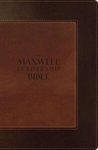The Maxwell Leadership Bible, NIV - cover