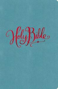 NKJV, Reference Bible, Compact, Large Print, Leathersoft, Turquoise, Red Letter Edition - Thomas Nelson - cover