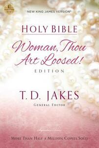 NKJV, Woman Thou Art Loosed, Paperback, Red Letter Edition - cover