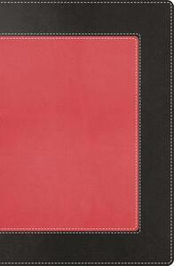 NKJV, The Woman's Study Bible, Imitation Leather, Pink/Black - Thomas Nelson - cover