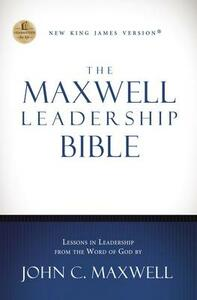 NKJV, The Maxwell Leadership Bible, Hardcover - cover