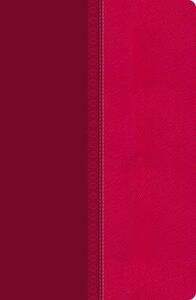 NKJV, Reference Bible, Giant Print, Leathersoft, Pink, Red Letter Edition - Thomas Nelson - cover