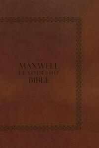 NIV, the Maxwell Leadership Bible - cover