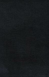 The Charles Stanley Life Principles Bible: New King James Version, Black Bonded Leather - cover