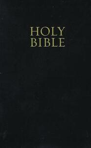 NKJV, Reference Bible, Personal Size, Giant Print, Leathersoft, Black, Red Letter Edition - Thomas Nelson - cover