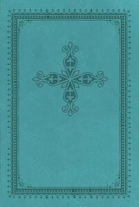 KJV, Ultraslim Bible, Imitation Leather, Turquoise, Indexed, Red Letter Edition - Thomas Nelson - cover