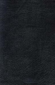 NKJV, Reference Bible, Giant Print, Bonded Leather, Black, Red Letter Edition - Thomas Nelson - cover