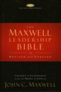 The Maxwell Leadership Bible: NKJV - cover