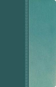 NKJV, Ultraslim Reference Bible, Imitation Leather, Turquoise, Indexed, Red Letter Edition - Thomas Nelson - cover