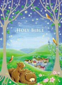 Sparkly Bedtime Holy Bible: International Children's Bible - Thomas Nelson - cover