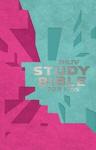 NKJV Study Bible for Kids Pink/Teal Cover: The Premiere NKJV Study Bible for Kids - cover