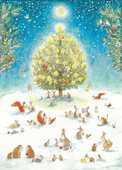 Libro in inglese Woodland Christmas: Advent Calendar ,Watts Bernadette
