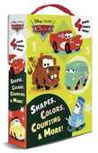 Libro in inglese Shapes, Colors, Counting & More! Rh Disney